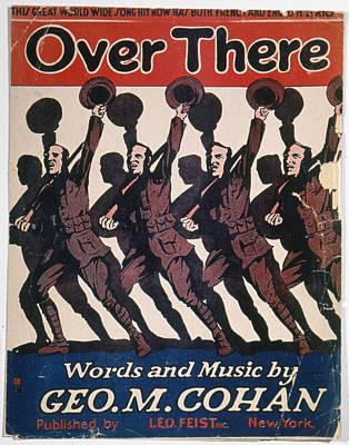 Sheet Music Cover, 1917 Art Print by Granger