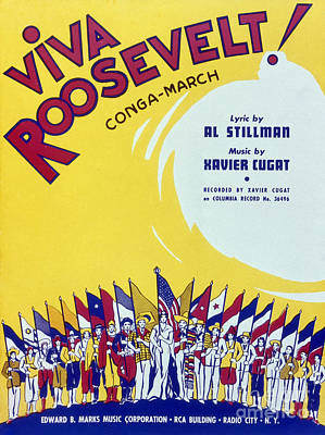Sheet Music Cover, 1942 Art Print