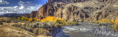 Shoshone Photograph - Shoshone River  by Twenty Two North Photography