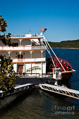 Photograph - Showboat Branson Belle by Lawrence Burry