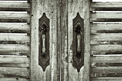 Photograph - Shutters by Tom Gowanlock
