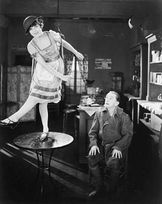 Photograph - Silent Film Still: Dancing by Granger