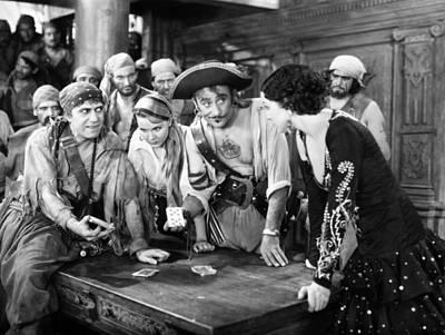 Photograph - Silent Film Still: Pirates by Granger