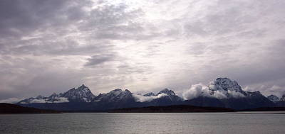 Photograph - Silver Tetons by Eric Tressler