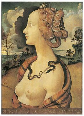 Simonetta Vespucci Painting - Simonetta Vespucci by Piero Di Cosimo