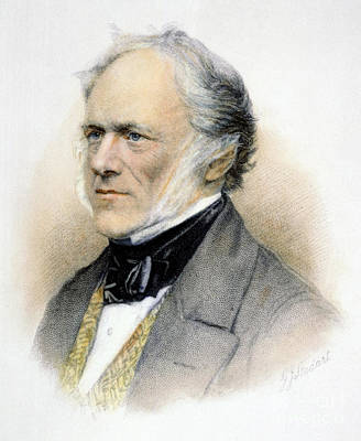 Sir Charles Lyell Art Print by Granger
