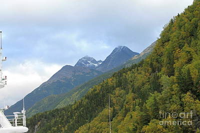 Photograph - Skagway Alaska by Pamela Walrath