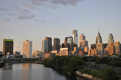 Photograph - Skyline Of Philadelphia by Andrew Dinh