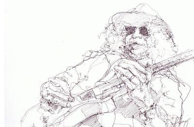 Slash Art Print by Bobby LeVangie