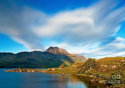 Caledonian Photograph - Slioch Across The Waters Of Loch Maree by Maciej Markiewicz
