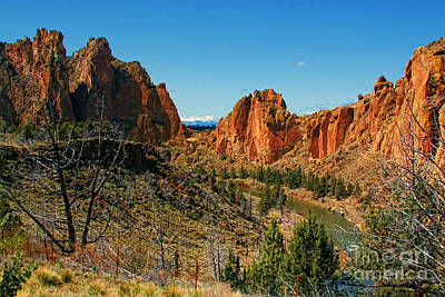 Photograph - Smith Rock State Park by Denise Oldridge