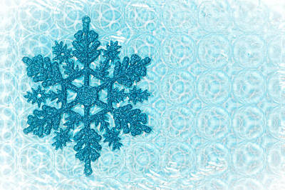Snow Flake Art Print by Tom Gowanlock