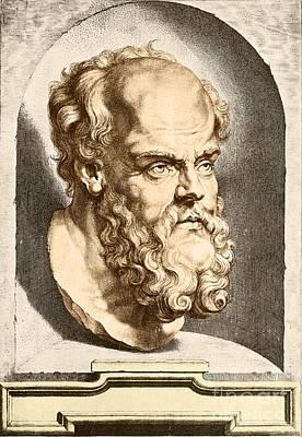 Socrates, Greek-athenian Philosopher Art Print by Science Source