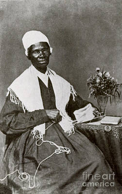 Abolition Photograph - Sojourner Truth, African-american by Photo Researchers