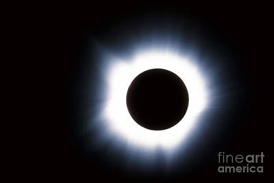 Solar Eclipse Art Print by Stocktrek Images