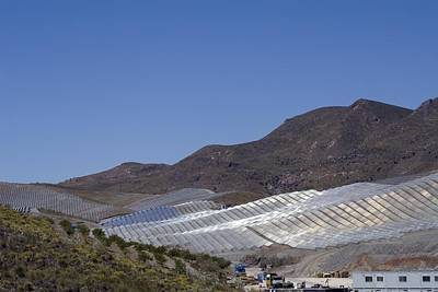 Solar Power Plant, Cala San Pedro, Spain Art Print by Chris Knapton