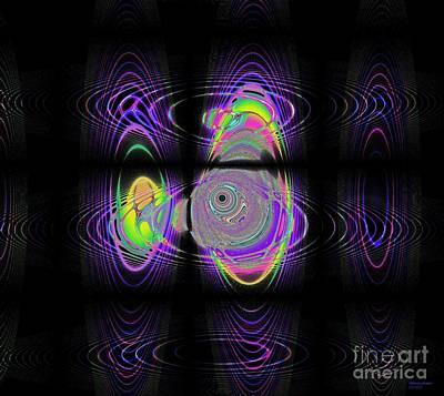 Digital Art - Solar Storms by Deborah Juodaitis