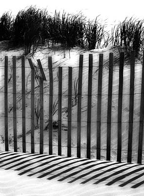 Sand Fences Photograph - Soliciting The Sand by The Artist Project
