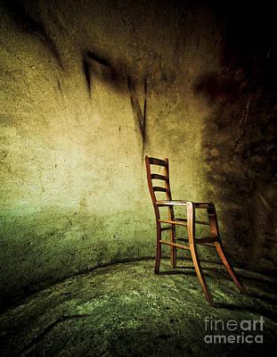Contemplative Photograph - Solitary Chair by Emilio Lovisa