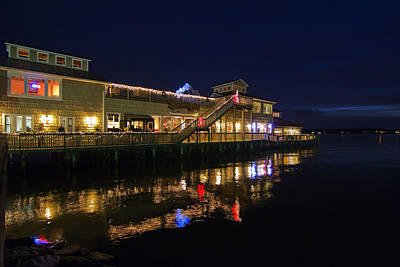 Photograph - Solomons Pier by Kelly Reber