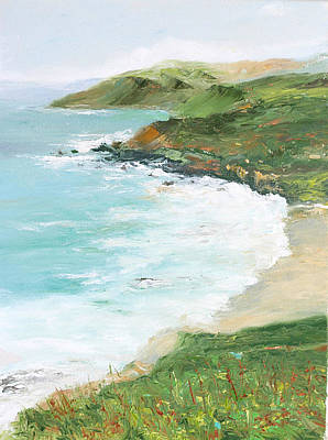 Painting - Somewhere On Big Sur by Max Mckenzie