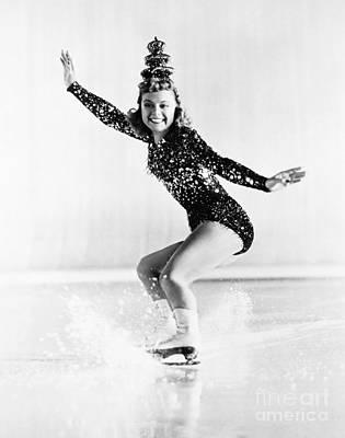 Figure Skater Photograph - Sonja Henie (1912-1969) by Granger