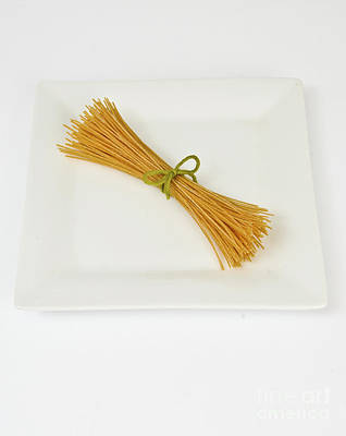 Soybean Spaghetti Art Print