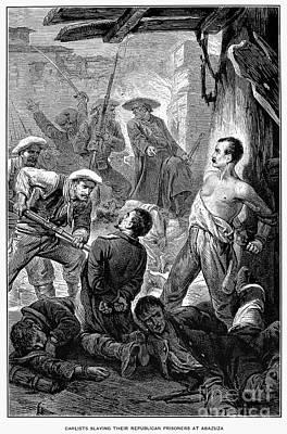 Spain: Second Carlist War Art Print by Granger