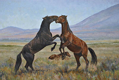 Painting - Sparring Partners by Karen McLain