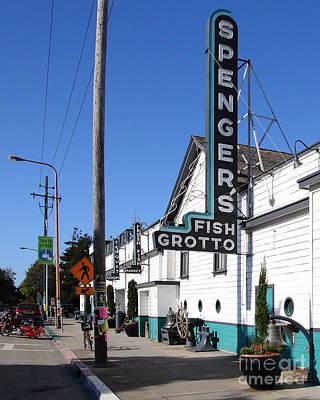 Photograph - Spengers Restaurant Berkeley California by Wingsdomain Art and Photography