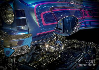 Tricked-out Cars Photograph - Spirit Runner  by Chuck Re