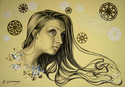 Drawing - Spring by Eka Gotsiridze
