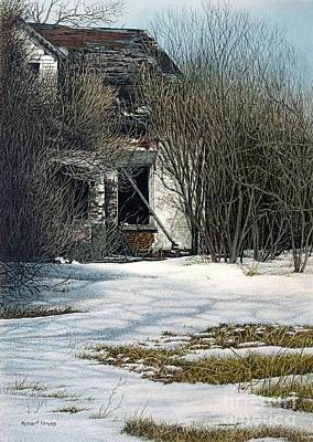 Painting - Spring Is Approaching by Robert Hinves