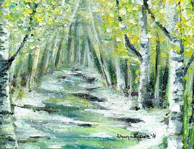 Snow Drops Painting - Spring by Shana Rowe Jackson