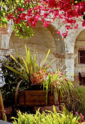 Photograph - Springtime At The Mission by Cliff Wassmann