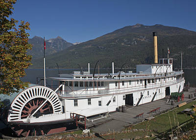 Photograph - Ss Moyie by Cathie Douglas