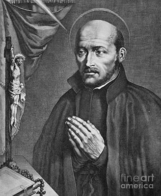 St. Ignatius Loyola Art Print by Granger