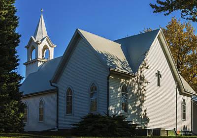 Photograph - St John's Lutheran Church by Edward Peterson