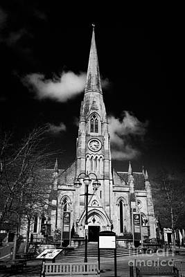 st kessogs church visit scotland tourist centre in the picturesque small town of Callander scotland  Art Print