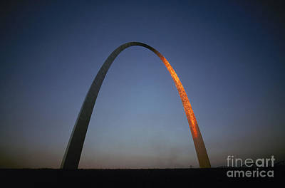 Photograph - St. Louis: Gateway Arch by Granger