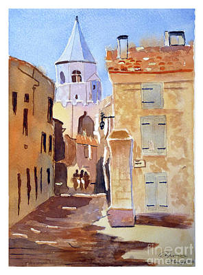St Martin's Tower France Art Print