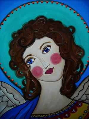 Painting - St Michael Archangel by Pristine Cartera Turkus