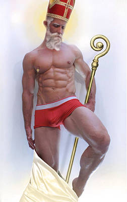 St Nicholas Art Print