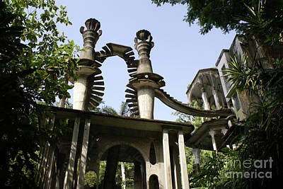 Photograph - Stairway To The Sky Las Pozas Mexico by John  Mitchell
