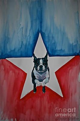 Star Appeal Art Print by Susan Herber