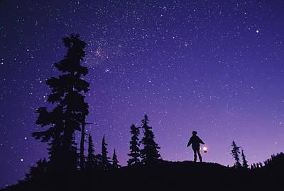 Starry Sky Print by David Nunuk
