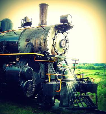 Steam Engine 18 Art Print by John Carncross