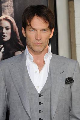 Gray Suit Photograph - Stephen Moyer At Arrivals For True by Everett