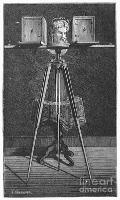 Stereopticon Photograph - Stereopticon, 19th Century by Granger