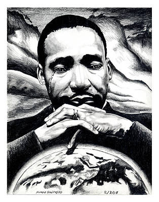 Martin Luther King Drawing - Still Have A Dream by Che Hondo